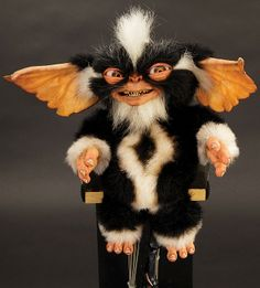 """Mohawk"" cable control puppet from Gremlins 2: The - by Profiles in History"