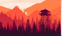 I recreated the parallax header on the [Firewatch](http://www.firewatchgame.com/) website in CSS. It was originally meant as a daft experiment but it s...