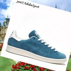 Tribe Blue White - Adidas Originals Stan Smith men Suede Shoes, Fashion  trainers will give d9c874ec9a48