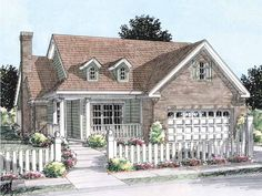 Build your ideal home with this Country house plan with 2 bedrooms(s), 2 bathroom(s), 1 story, and 1425 total square feet from Eplans exclusive assortment of house plans.