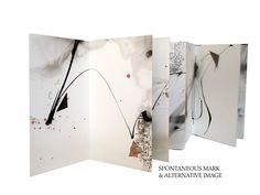Spontaneous Mark by Pamela Paulsrud - artists book, mark making