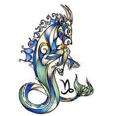 capricorn tattoos - Google Search Baby Tattoos, Foot Tattoos, Flower Tattoos, New Tattoos, Small Tattoos, Capricorn Art, Capricorn Tattoo, Astrology Pisces, Signes Zodiac