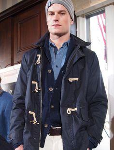 Nautica | Men's Fashion | Menswear | Men's Casual Outfit for Fall/Winter | Moda Masculina | Shop at designerclothingfans.com