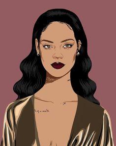 Rihanna art.