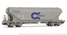 """Electrotren - E8017 - Vagón tolva """"CINDASA"""" - Hornby® International"""