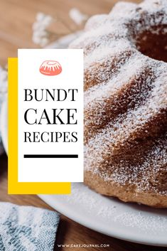 Bundt cake is very popular in many parts of the world. With that said, however, there are also many people who have no clue what bundt cake is. Quick Dessert Recipes, Quick Easy Desserts, Cold Desserts, Sweet Desserts, Cake Recipes, Snack Recipes, Savory Snacks, Yummy Snacks, Yummy Food
