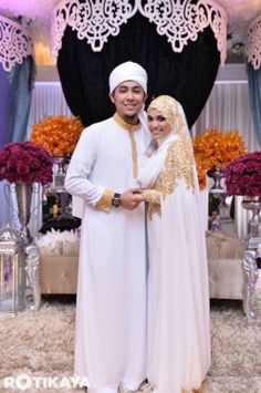 Muslim wedding dress