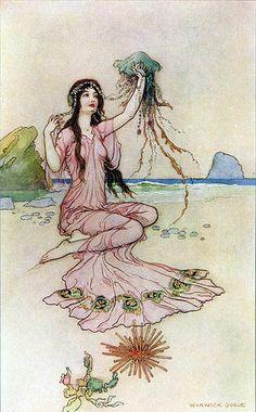 Warwick Goble—Seaside (via finsbry)