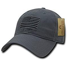 American Pride Flag Baseball Caps Tonal Flag Dark Grey 38199f63d00