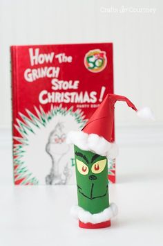 Lots of cute recipes, crafts, and activities all about The Grinch! This is such a cute family Christmas series that the whole family will love!