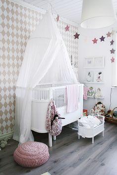 Girls room,pineado por HABITAN2 http://habitandos.blogspot.com.es