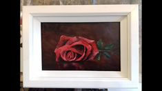 Painting a Red Rose - YouTube
