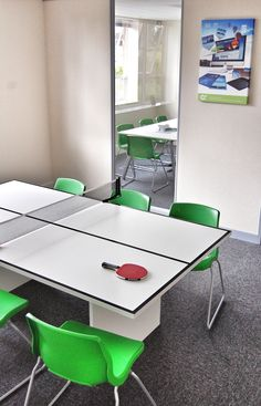 table tennis meeting table - now that is what i am talking about