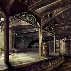 Abandoned Subway -- Look at the ornate details on the arches.