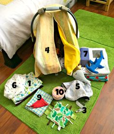 Cation Designs: SHB Sew-Along: Baby Accessories Inspiration