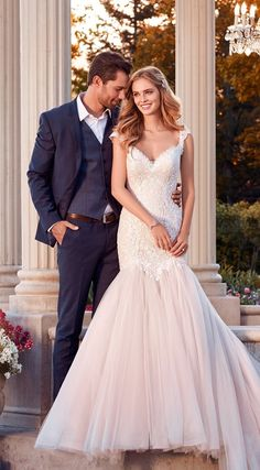 Rebecca Ingram - ZELDA, Beaded lace and crosshatching adorn the bodice of this wedding dress, completing the sweetheart neckline, illusion cap-sleeves and illusion scoop back.
