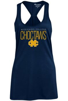 Mississippi College Choctaws Women's Tank Top