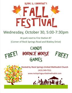 Family Fall Festival Flyer Fall  Church Fall Festival Ideas