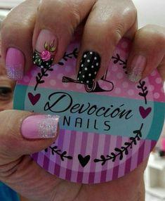 Roses dots and mauve nails - Search Mauve Nails, Gold Nails, White Nails, Fun Nails, Green Nail Polish, Green Nails, Nail Polish Stickers, White Nail Designs, Top Nail