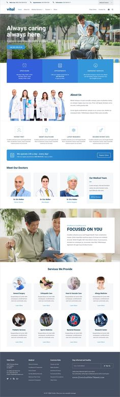 Vital is a wonderful responsive #WordPress theme for #pharmaceutical, #healthcare, beauty and wellness industries professional website with multiple homepage layouts download now➩  https://themeforest.net/item/vital-healthcare-and-wellness-wordpress-theme/19468251?ref=Datasata