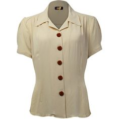40s Shirt Buttermilk