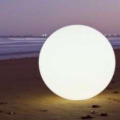 Space lighting Globe: Wireless, rechargeable, and last up to 12 hours. I love these