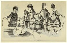 These are examples of the dresses that children wore during the 1870's