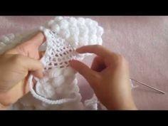 Topitop Bebek Yeleği Yapımı - YouTube