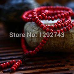 Multi-layer High-quality Red Sandalwood Buddha Beads Jewelry