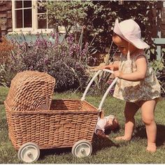 Vintage gifts for our babies!Dreamed...of another era....