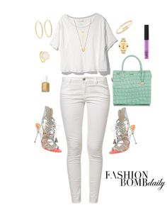 what to wear white party labor day weekend fashion bomb daily free people shirt sophia webster silver shoes brahmin bag
