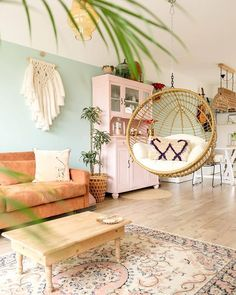 Awesome 51 Magnificient Bohemian Living Room Decoration Ideas That Looks Elegant Boho Living Room, Home And Living, Living Room Decor, Small Living, Bohemian Living, Living Rooms, Home Interior, Interior Design Living Room, Living Room Designs