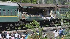 Moscú: Seis muertos y 15 heridos graves en choque de trenes