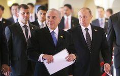 Путин и Темер обсудили в Индии инициативу об ограничении госрасходов и инфляцию   16 октября, 14:00   http://tass.ru/mezhdunarodnaya-panorama/3708617