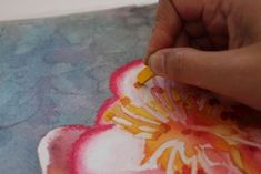 How to make your watercolors pop with pastels