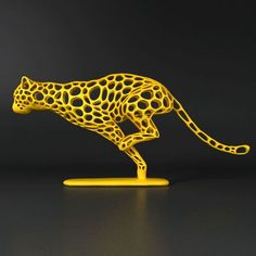 printer design printer projects printer diy Art Art cheetah voronoi wireframe model stl 1 you can find similar pins below. 3d Printing Machine, 3d Printing Diy, 3d Printing Service, 3d Printer Designs, 3d Printer Projects, Wireframe, 3d Zeichenstift, Stylo 3d, 3d Printed Objects