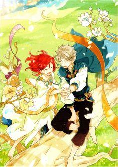 Zen x Shirayuki Illustration, Akagami No Shirayuki, Drawings, Manga Covers, Akagami No, Animation, Snow White With The Red Hair, Anime, Anime Drawings