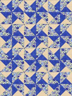 """See the MSQC Missouri Star tutorial for easy quarter square blocks out of 5"""" and 6.25 HST"""