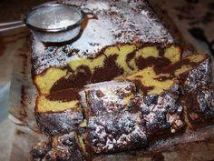 Reteta culinara Desert chec la tava din categoria Prajituri. Cum sa faci Desert chec la tava Sweets Recipes, Cake Recipes, Cooking Recipes, Romanian Food, Marble Cake, Pastry And Bakery, Food Cakes, Baking, Breakfast