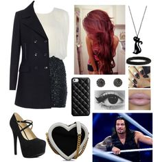 """""""Date with Roman Reigns"""" by infinity-sabry on Polyvore"""