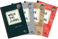 Wreck This Journal- art idea for homeschool, or morning time?