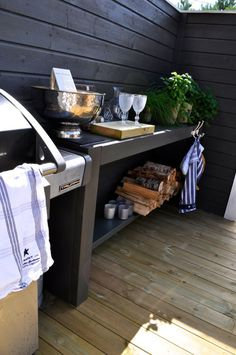 En reise fra 2016-18. – Villa Paprika Home Blogs, Villa, Rooftop Deck, Outdoor Living, Outdoor Decor, Roof Design, Pergola, Sweet Home, Cottage