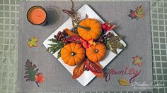 This Thanksgiving create your own placemats! Read more for a video tutorial on how to decorate your own placemats . Craft Tutorials, Craft Projects, Thanksgiving Placemats, Art Deco Decor, Design Crafts, Fall Crafts, Cardmaking, Diy Home Decor, Create Your Own