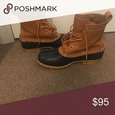 Bean boots L.L. Bean boots. Only worn a few time. Very warm and comfortable. L.L. Bean Shoes Winter & Rain Boots