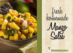 Easy and delicious mango salsa recipe fresh from your kitchen.