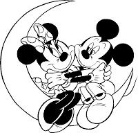 DISNEY COLORING PAGES: COLORING PICTURES OF MINNIE MOUSE SND MICKEY MOUSE
