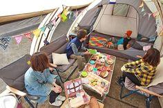 大流行中「トンネル型テント」の超人気4モデル!おしゃれさと快適さ、一挙に入手ッ!|CAMP HACK[キャンプハック] Cabin Tent, Tent Decorations, Toddler Bed, Camping, Semi Permanent, Outdoors, House, Campsite, Tent