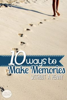 Family time is precious. Looking for ways to make the most out of your time together without spending money? Here are 10 ways to make memories without a penny.