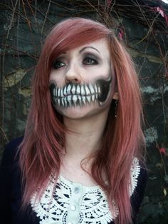 Incredible teeth make-up