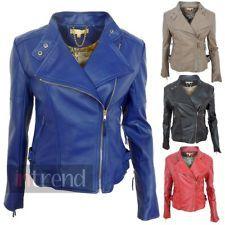 I kinda want a blue leather jacket.